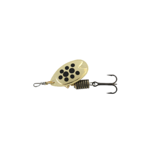 Abu Garcia Fast Attack 4,5 G Gold/black Dots - Spinnere