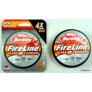 Berkley Fireline Ultra 8 Sort 150m