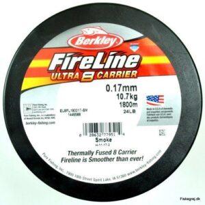 Berkley Fireline Ultra 8 Sort 1800m