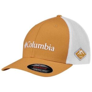 Columbia Mesh Ball Cap Flexfit Orange