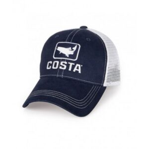 Costa Trout Trucker Cap Navy/White