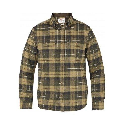 Fjällräven Singi Heavy Flannel Skjorte Grøn
