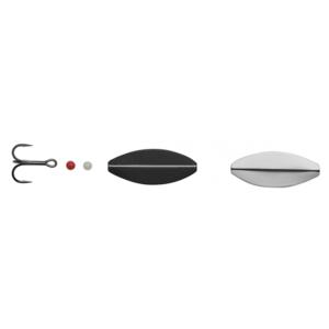 Hansen Sd Snapshot 4cm - 5,3gr Uv Signal White/mat Black - Gennemløber