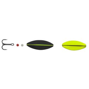 Hansen Sd Snapshot 4cm - 5,3gr Uv Yellow/mat Black - Gennemløber