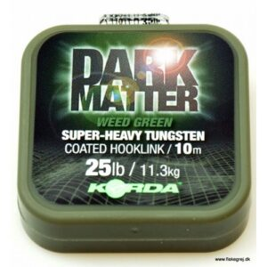 Korda Dark Matter Super-Heavy Tungsten Coated Hooklink