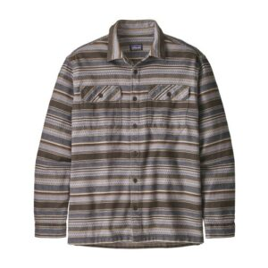 Patagonia Fjord Flannel Skjorte Folk Dobby Brown