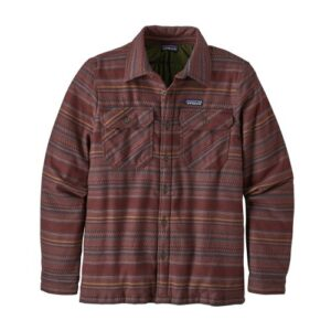 Patagonia Insulated Fjord Folk Dobby/Dark Ruby