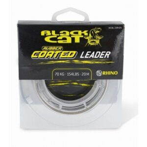 Rhino Black Cat Rubber Coated Leader