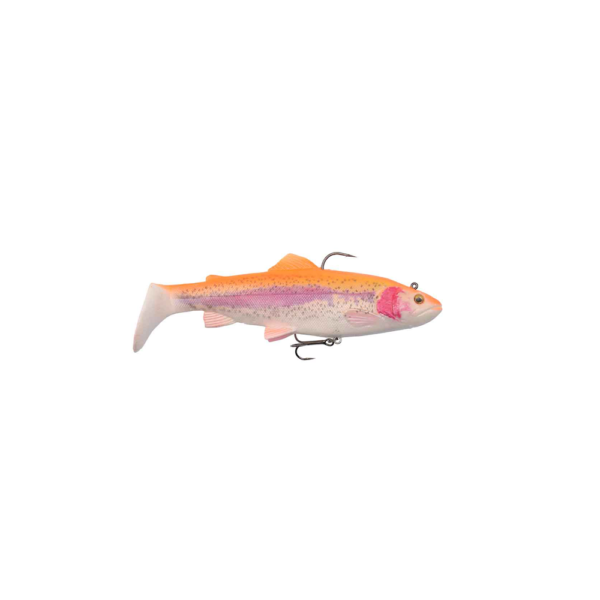 Savage Gear 4d Trout Rattle Shad 20,5cm - 120gr Golden Albino - Softbait