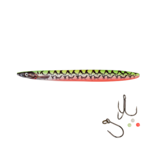Savage Gear Line Thru Sandeel Eel Pout Collection 11cm - 15gr Yg Pout - Gennemløber