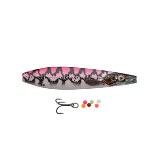 Savage Gear Line Thru Seeker Eel Pout Collection 7,5cm - 18gr Pink Pout - Gennemløber
