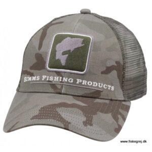 Simms Bass Icon Trucker Pico Camp Mineral Cap