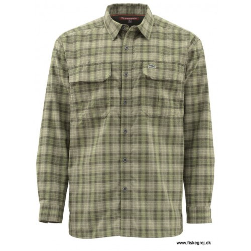 Simms Coldweather Skjorte Covert Plaid