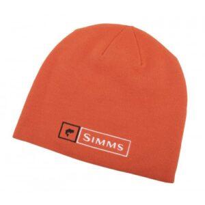 Simms Lockup Beanie Orange