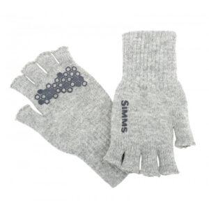 Simms Wool Half Finger Handske