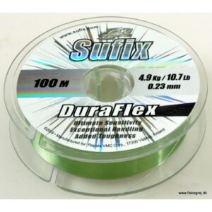 Sufix Duraflex 100m Lo Vis Green