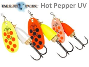 Blue Fox Vibrax Hot Pepper UV