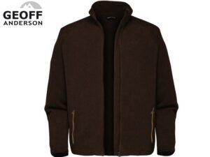 Geoff Anderson Dozer Fleece - brun