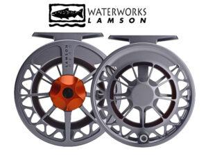 Lamson Guru II Grey/Orange-1.5