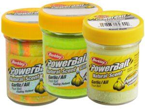PowerBait natural scent Garlic - Hvidløg