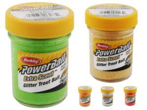 Powerbait med glimmer