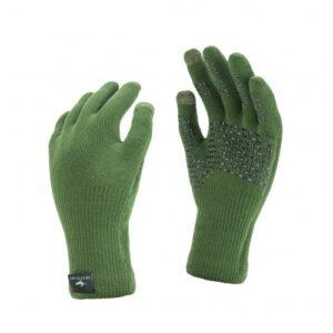 SealSkinz Ultra Grip Glove Grøn