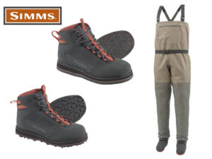 Simms Tributary Waders Combo