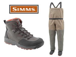 Simms Tributary/Freestone Waders Combo