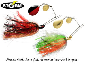 "Storm R.I.P. Spinnerbait ""Colorado"" blade"