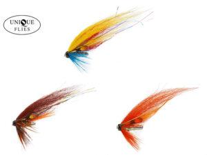 Unique Flies Salmon Mix US Tube Fluer