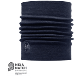 Buff Heavyweight Merino Wool Neckwarmer Denim