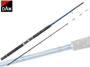 DAM Steelpower Blue Saltwater Downrigger 12-25lb