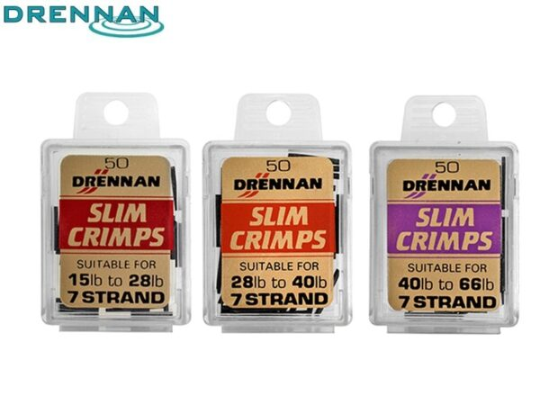 Drennan Slim Crimps - klemhylstre