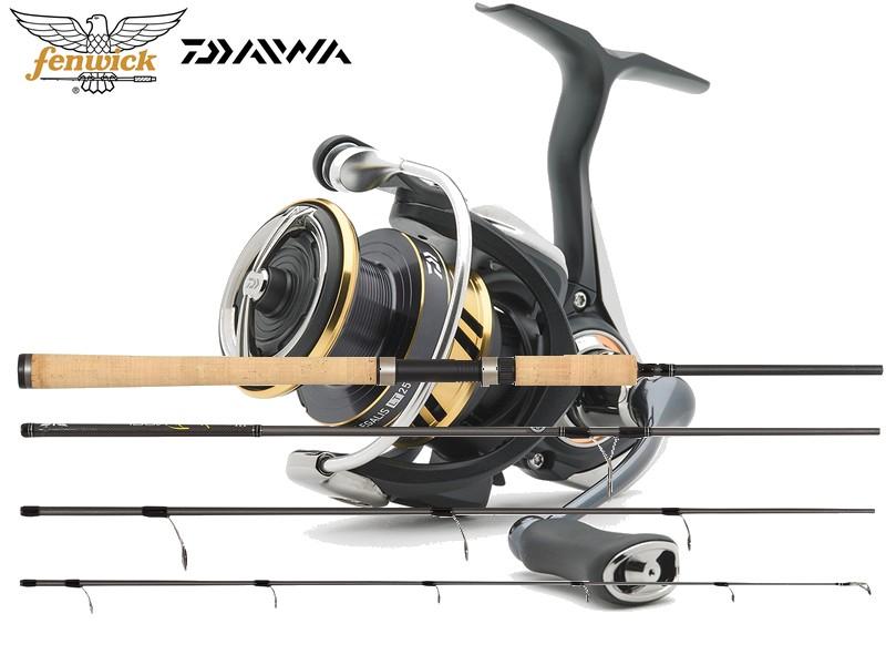 Fenwick Ironfeather Spin/Daiwa Legalis LT 4000 combo