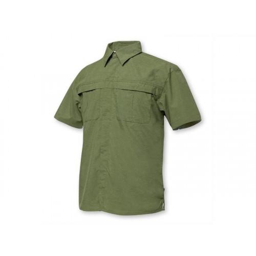 Geoff Anderson Morada Kortærmet Skjorte Grøn
