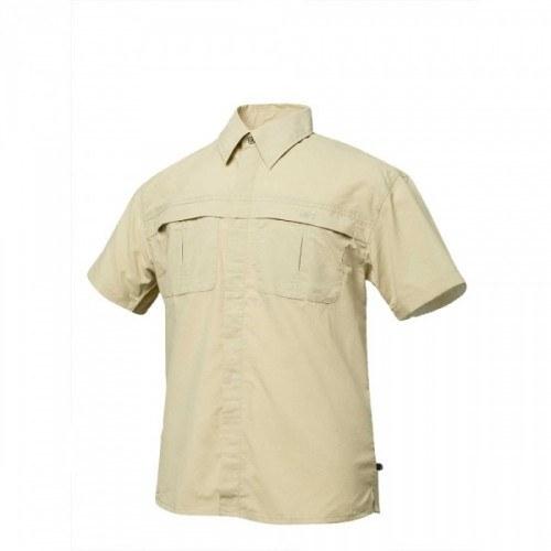 Geoff Anderson Morada Kortærmet Skjorte Sand XSmall