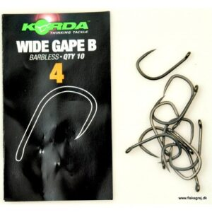 Korda Wide Gape Barbless