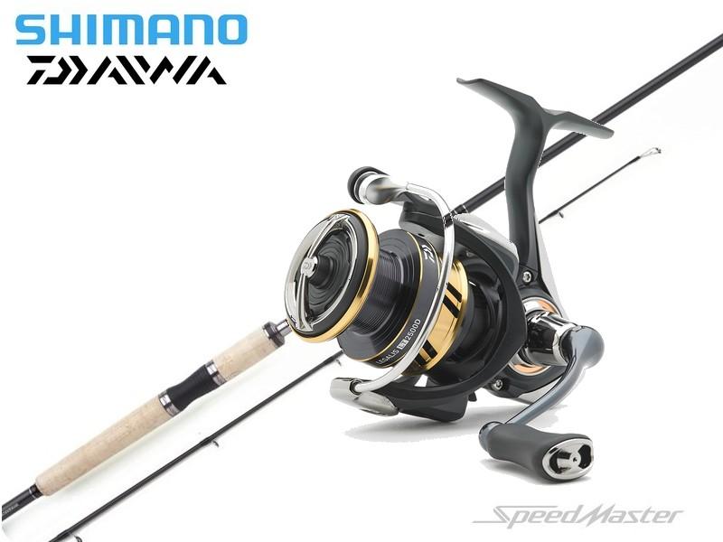 Shimano Speedmaster/Daiwa Legalis 4000 Combo