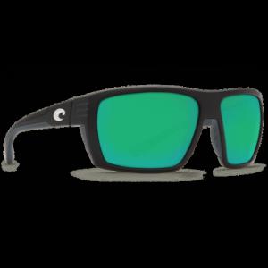 Costa Hamlin 580P Matte Black/Green Mirror