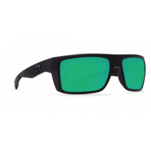 Costa Motu 580G Blackout/Green Mirror