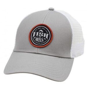 Simms Fish it Well Small Fit Trucker Granite