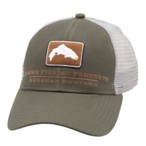 Simms Small Fit Trout Icon Trucker Canteen