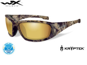 Wiley X BOSS Pol Amber Gold Mirror Kryptek® Highlander® Frame