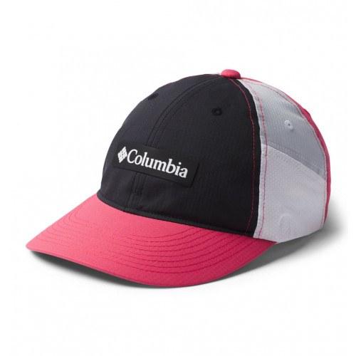 Columbia Ripstop Ball Cap Black, Rouge Pi