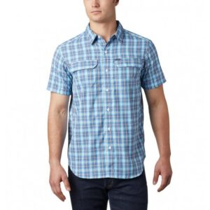 Columbia Silver Ridge™ 2. Multi Plaid SS Skjorte Azul Gingham