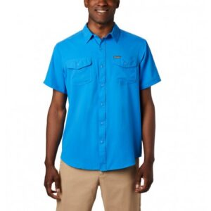 Columbia Utilizer™ II Solid SS Skjorte Azure Blue