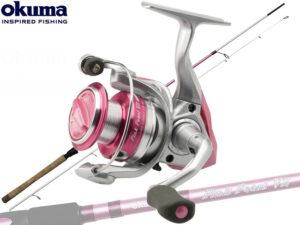Okuma Pink Pearl V2 combo