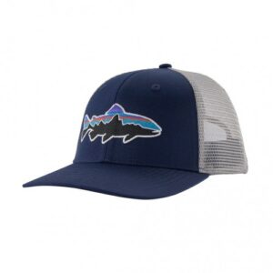 Patagonia Fitz Roy Trout Trucker Hat Classic Navy