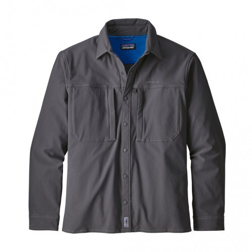 Patagonia Ms L/S Snap-Dry Shirt Forge Grey