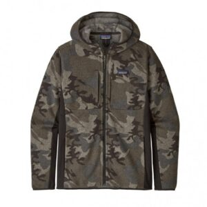 Patagonia Ms LW Better Sweater Hoody River Delta:Forge Grey